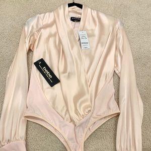 Blush pink bodysuit